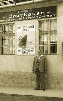 Werbekarte der United States Lines