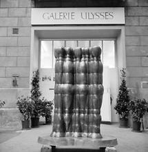 Der Eingang zur Galerie Ulysses