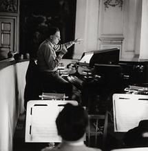 Karl Böhm bei Proben (1)