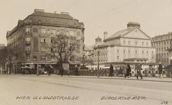 Blick auf das Wiener Bürgertheater