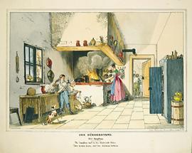 Der Bürgerstand: Die Jungfrau (Küchenszene)