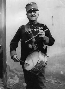 Eduard Baar-Baarenfels als Trommler