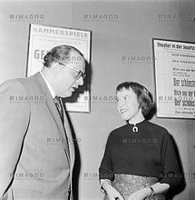 Ingeborg Bachmann und Heinrich Drimmel