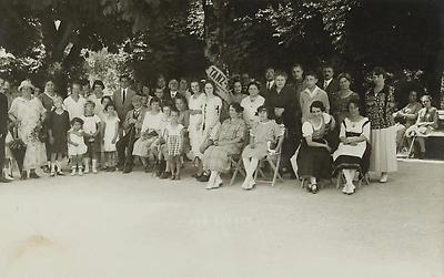 Gruppenbild in Bad Aussee, © IMAGNO/Austrian Archives