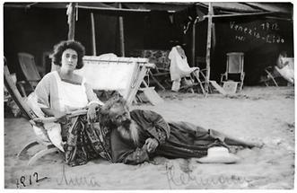 Hermann Bahr mit seiner Ehefrau Anna