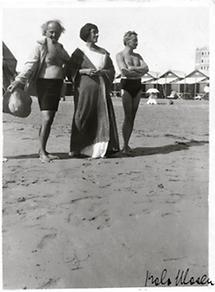 Hermann Bahr, seine Frau Anna und Koloman Moser