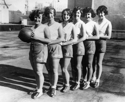 Basketballteam der Los Angeles Public Library, © IMAGNO/Austrian Archives (S)