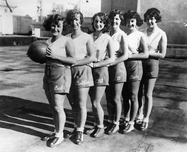 Basketballteam der Los Angeles Public Library