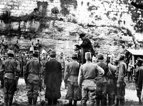Hinrichtung Cesare Battisti