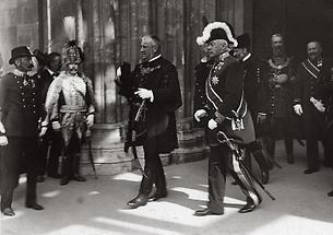 Sandor Wekerle und Max Vladimir Freiherr von Beck