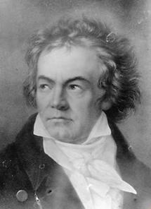 Portrait Ludwig van Beethoven