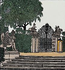 WW-Postkarte: Belvedere