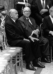 Anton Benya und Rudolf Sallinger