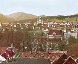 Blick auf Berndorf