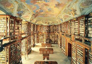 Bibliothek des Augustiner-Chorherrenstifts in St. Florian
