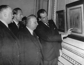 Ausstellung über Honore Daumier in der Albertina