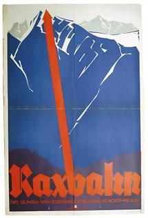 Plakat: Raxbahn