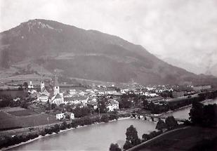 Stadtansicht von Bischofshofen