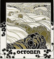 Kalenderblatt October für Ver Sacrum