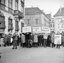 Demonstration gegen Taras Borodajkewycz (2)