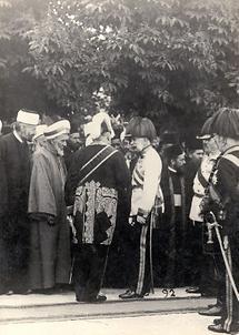 Kaiser Franz Joseph in Bosnien-Herzegowina