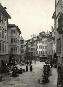 Marktplatz in Bozen
