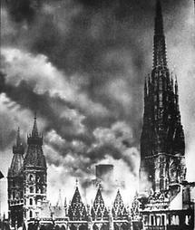 Der brennende Stephansdom