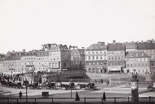 Häusergruppe bei der Marienbrücke
