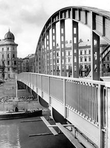 Die Rotundenbrücke in Wien
