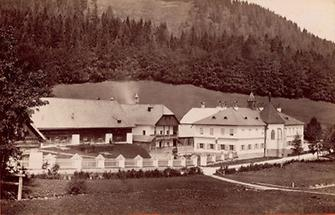 Brandhof am Seeberg in der Steiermark