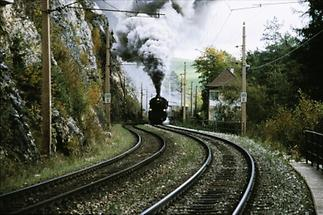 Semmeringbahn: Historische Dampflokomotive