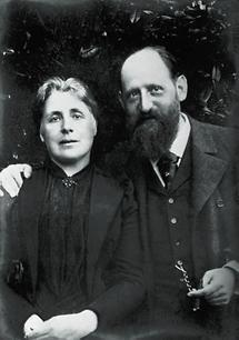 Josef Breuer mit seiner Frau