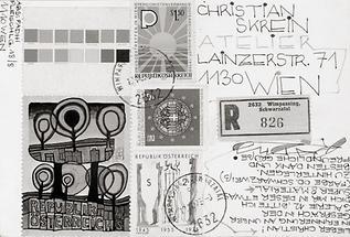 Postkarte von Padhi Frieberger