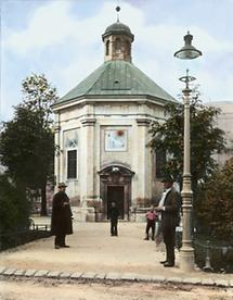 Die Brigittakapelle in der Brigittenau