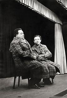 Helmut Qualtinger und Gerhard Bronner (2)