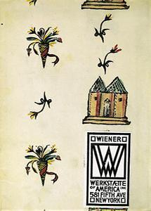 Verkaufskatalog der Wiener Werkstaette of America Inc.