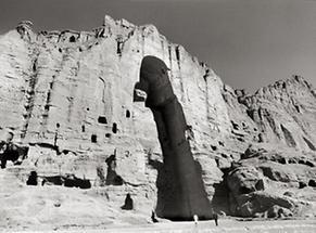 Buddha-Statue von Bamiyan in Zentralafghanistan