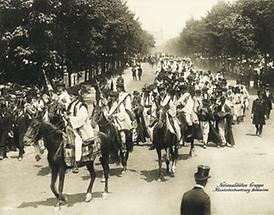 Jubiläums-Huldigungs-Festzug zu Ehren Franz Josephs