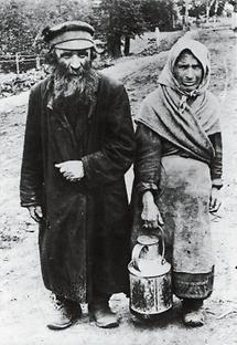 Jüdisches Bauernpaar