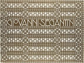 Bucheinband für Giovanni  Segantini
