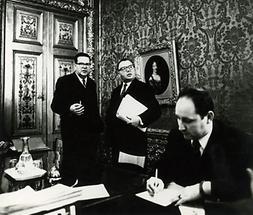 Beamte in einem Ministerium