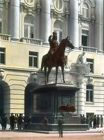 Das Reiterstandbild Feldmarschall Radetzkys