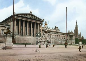 Parlamentsgebäude an der Wiener Ringstraße