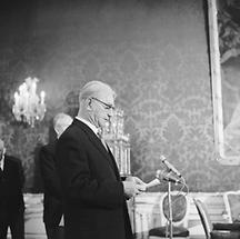 Bundespräsident Franz Jonas