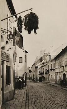 Weinhauerhäuser in der Kahlenberger Straße