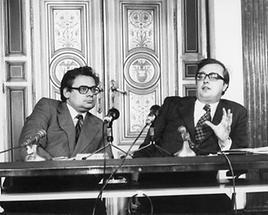 Erhard Busek und Josef Taus (1)
