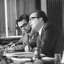 Erhard Busek und Josef Taus (2)