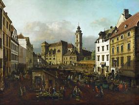 Die  Freyung in Wien