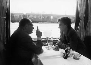Bruno Kreisky und Josef Cap