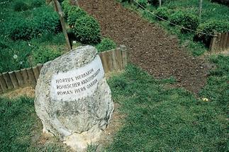 Informationen auf Steinen in Carnuntum